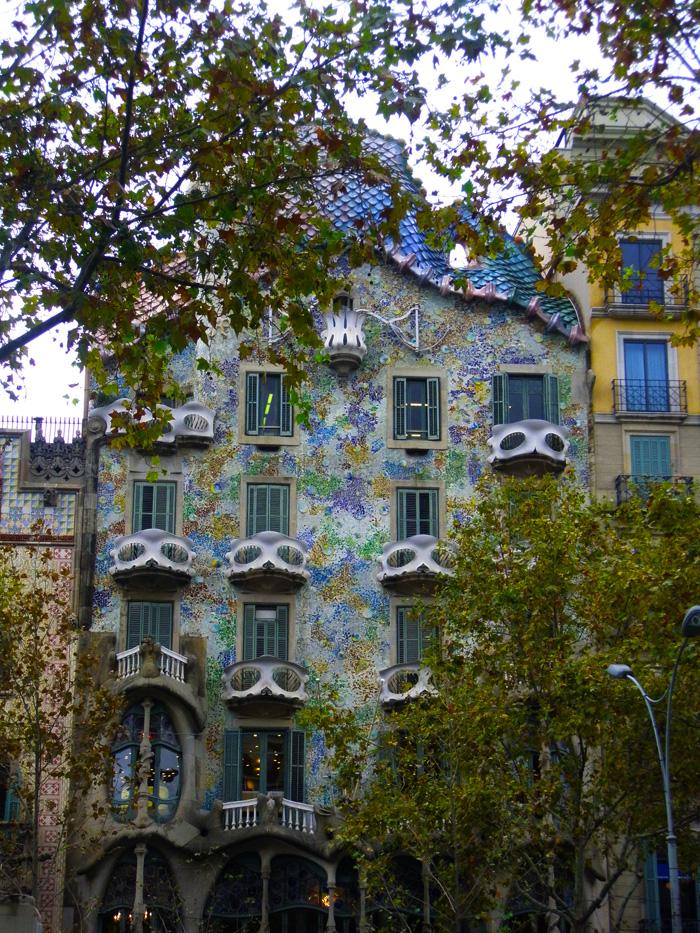 Casa Batlló de Barcelona diseñada por Gaudí