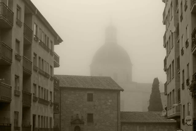 Niebla en Salamanca