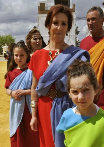 Vestimenta típica usada en el Festival Romano de Gilena