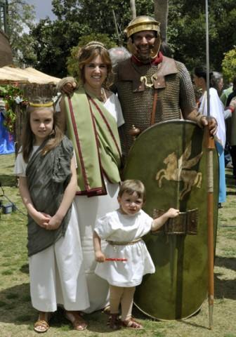 legionario-familia-festival-romano-gilena