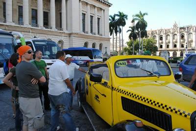 Taxi antiguo de La Habana