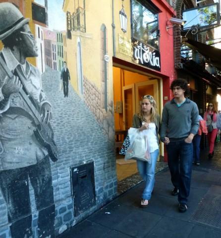 El animado barrio de Palermo de Buenos Aires