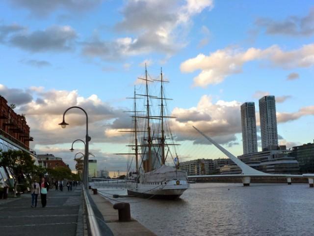 Puente de la Mujer de Buenos Aires