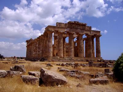Templo griego de Sicilia