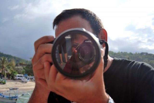 consejos para viajar solo - Fotografiando