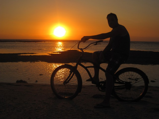 consejos para viajar solo - Bicicleta
