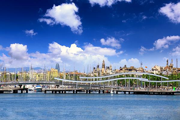 Port Vell es el puerto deportivo de Barcelona