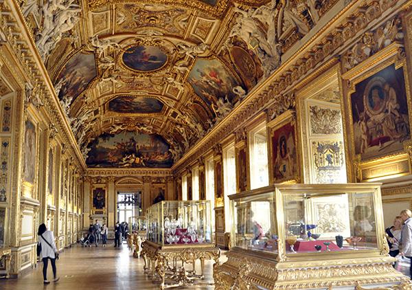 cuadros del Museo del Louvre