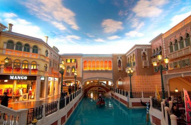 The Venetian Hotel Casino en Macao: Las otras Venecias del mundo