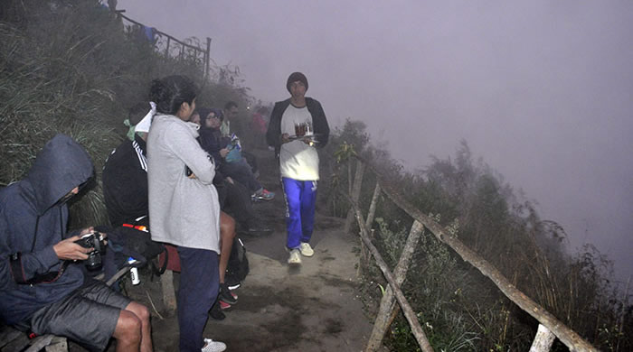 Subir al volcán Batur de Bali