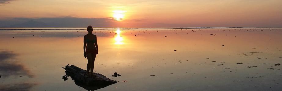 Puestas de sol inolvidables en Bali y en Gili Islands