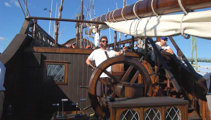Viajar como voluntario en un galeón español