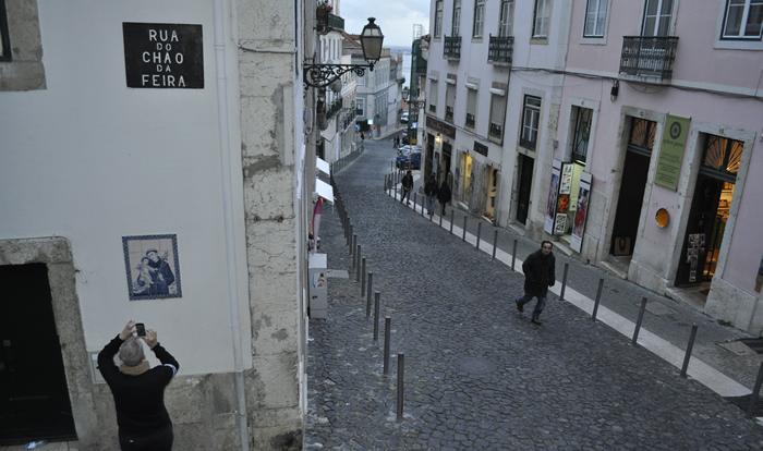 Calle de Alfama, Lisboa