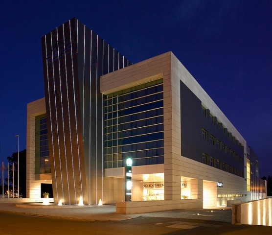 El NH Gran Hotel Casino Extremadura
