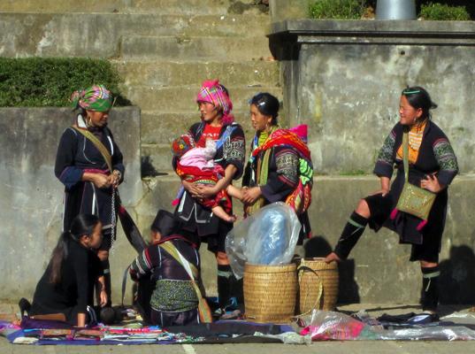 Indígenas de Sapa