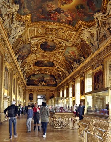 Galería del Museo del Louvre