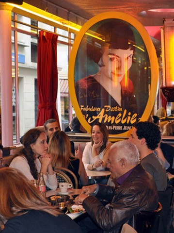 """El """"Café des 2 Moulins"""" de Amélie Poulain"""