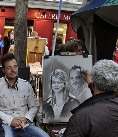 Caricaturistas de Montmartre