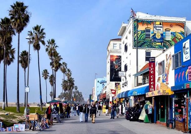 Venice Beach, el paseo más famoso de California