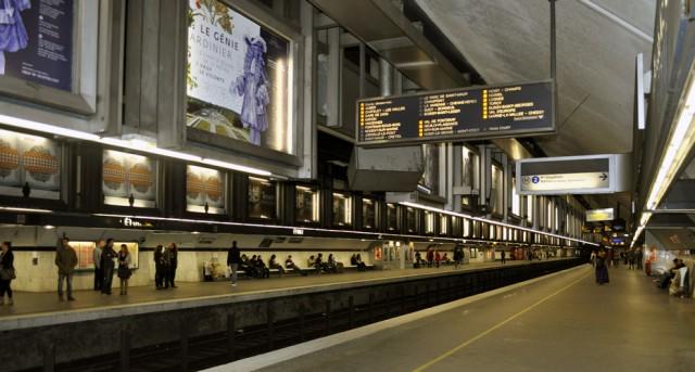 Estación de metro de París