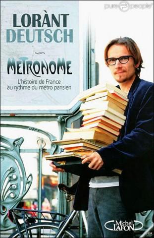 Foto de Lorànt Deutsch, portada de Metronome