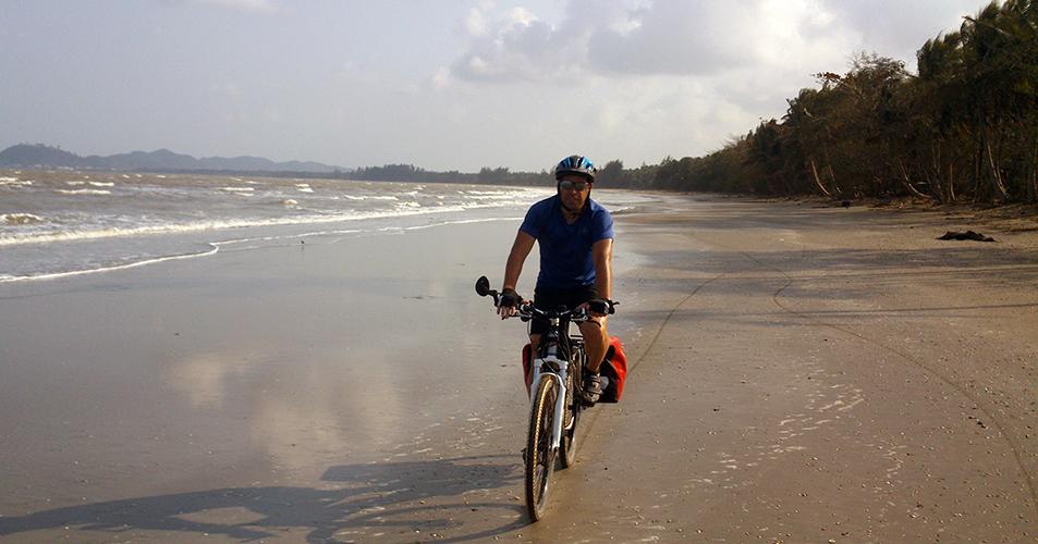 Ruta Cicloturista por las playas de Tailandia