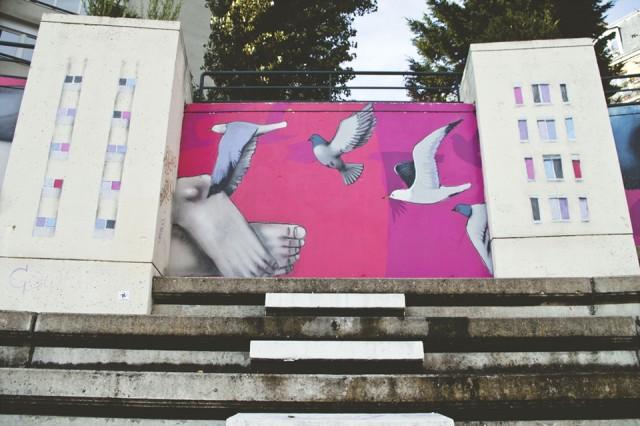 Arte urbano en París