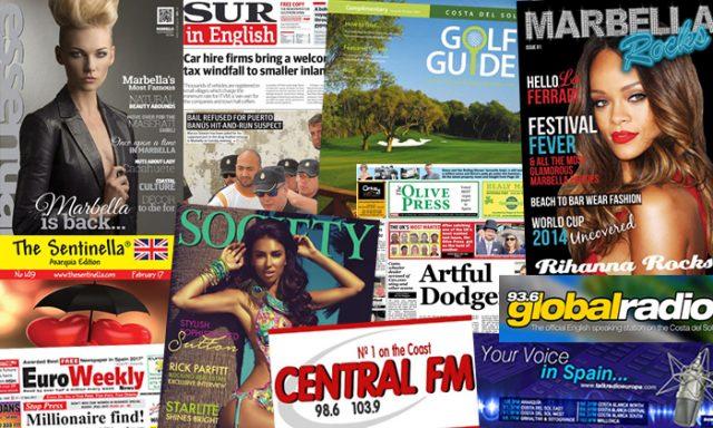 Prensa en inglés en la Costa del Sol