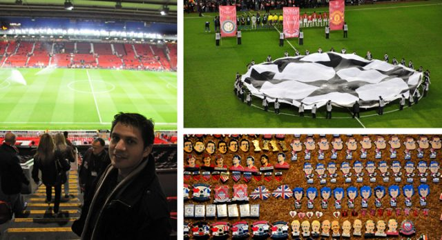 Estadio de Old Trafford Manchester United