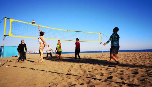 Vóley-playa en Fuengirola