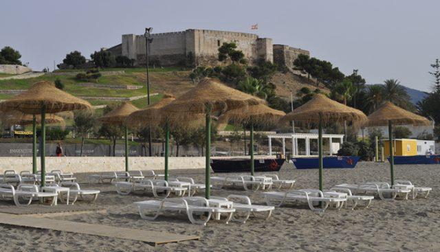 Playa del Castillo de Fuengirola