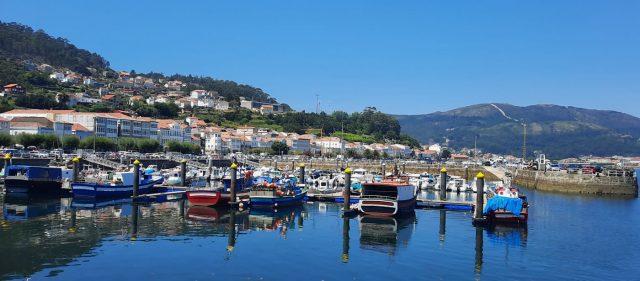 Puerto pesquero de Muros, Galicia