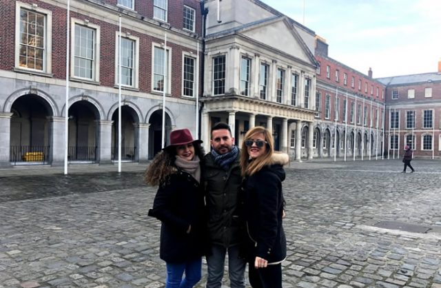 Plaza del Castillo de Dublín
