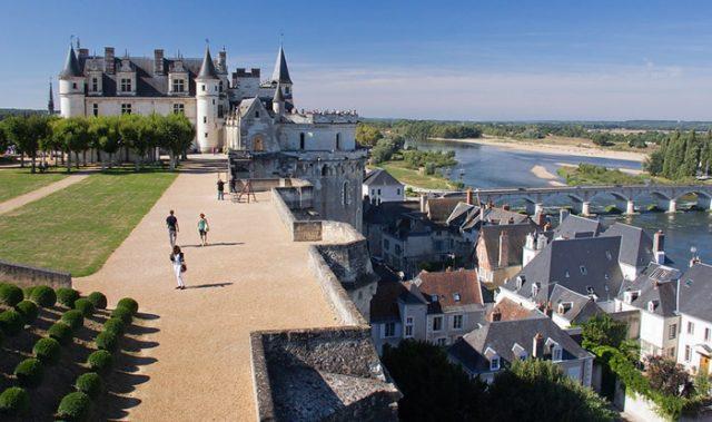 Château d'Amboise, Valle del Loira, Francia