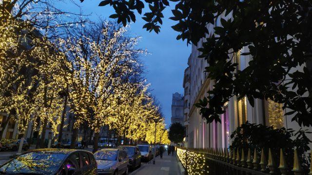 Avenida Montaigne de París