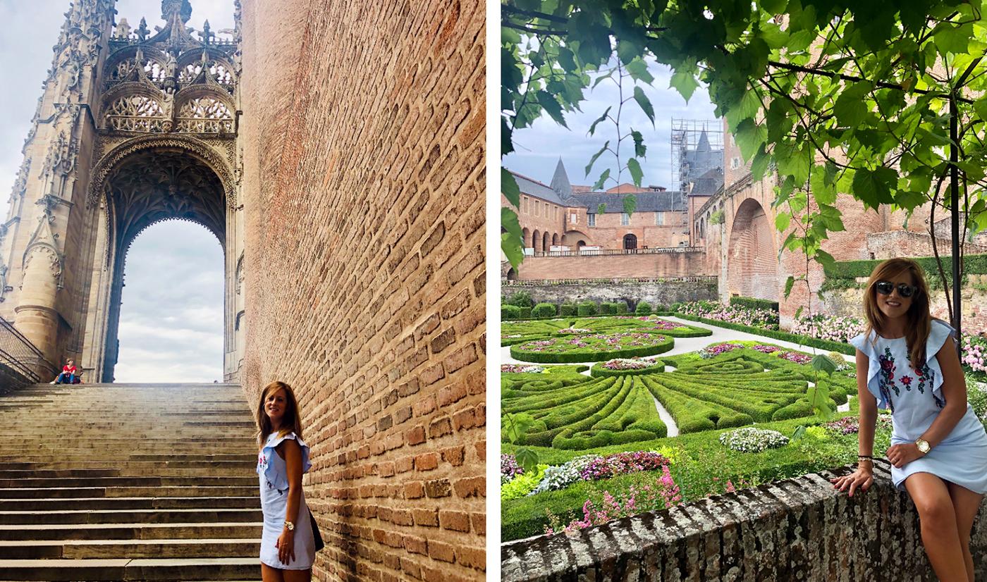 Catedral y jardines de la Bérbie de Albi