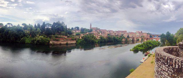 Vista de Albi, Francia