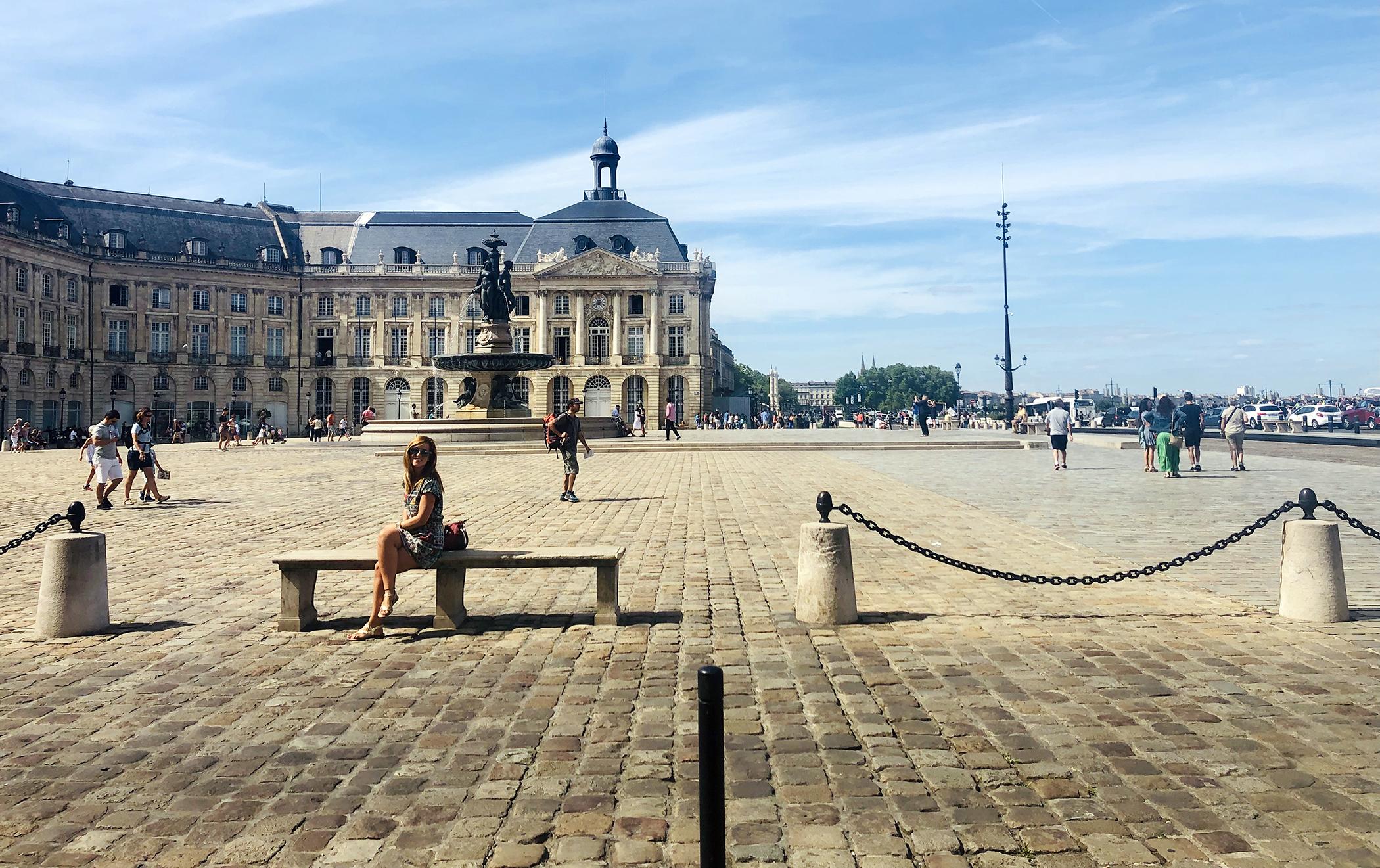 De Toulouse a Burdeos - La Plaza de la Bolsa de Burdeos