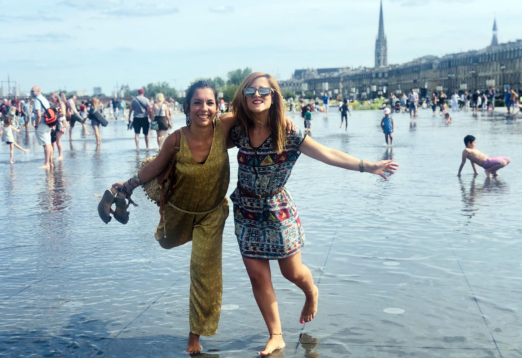 De Toulouse a Burdeos - Espejo del agua, Burdeos