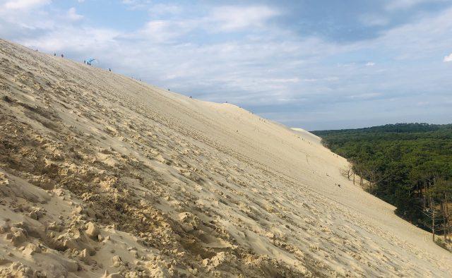La duna de Pilat, Francia
