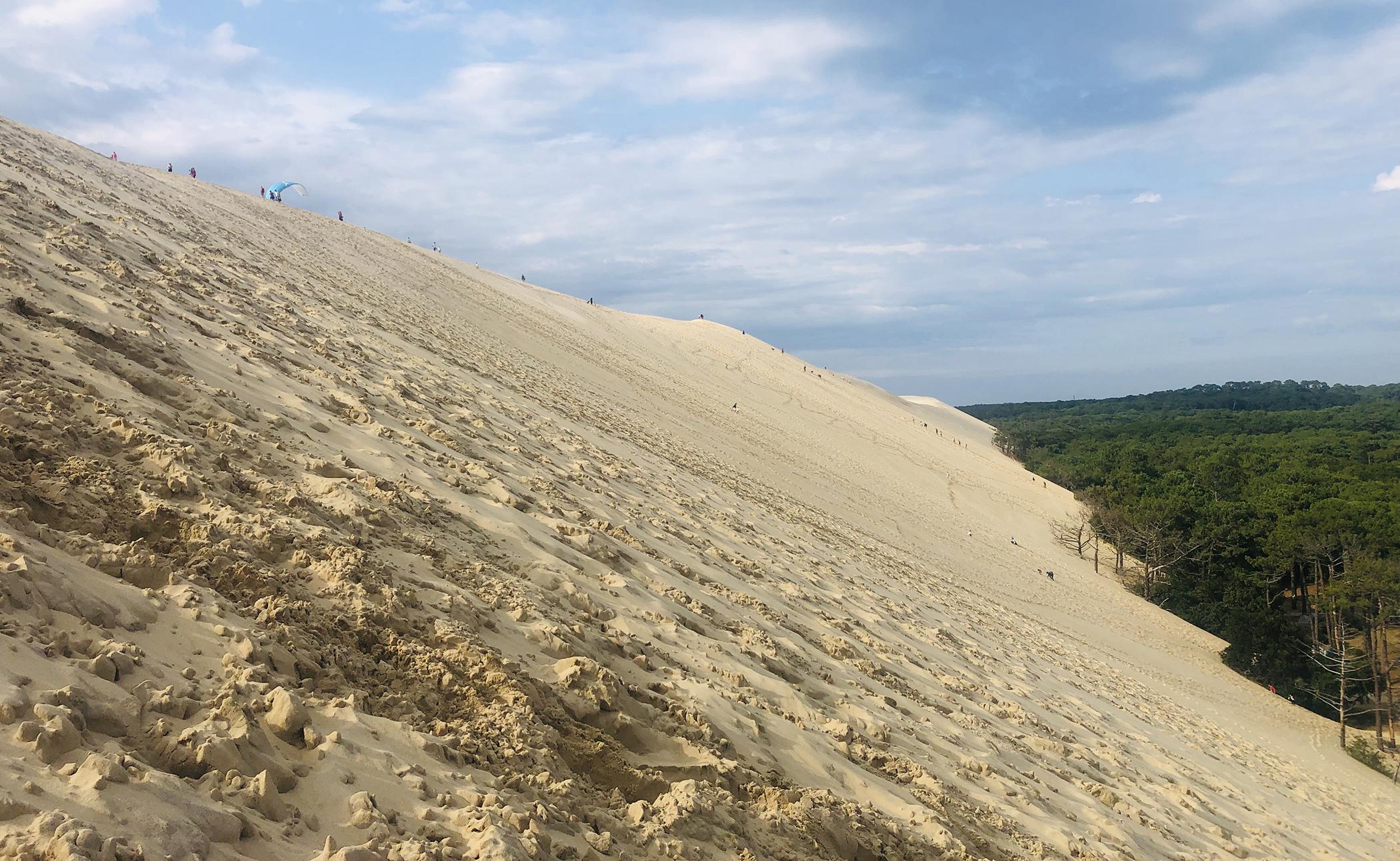 De Toulouse a Burdeos - La duna de Pilat, Francia