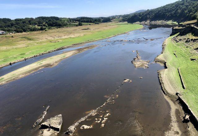 Río Miño a su paso por Portimarín